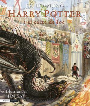 HARRY POTTER I EL CALZE DE FOC (EDICIÓ IL·LUSTRADA)