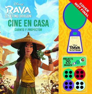 RAYA Y EL ÚLTIMO DRAGÓN. CINE EN CASA (CUENTO Y PROYECTOR)