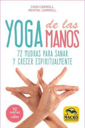 YOGA DE LAS MANOS   ( 72 CARTAS + LIBRO )