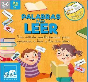 PALABRAS PARA LEER  ( 2-6 AÑOS )
