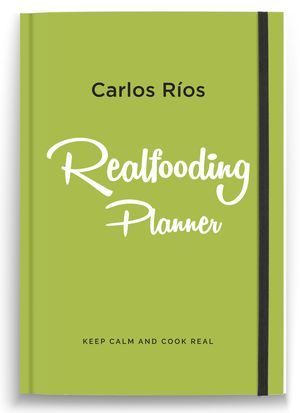 REALFOODING PLANNER 2021 - KEEP CALM AND COOK REAL