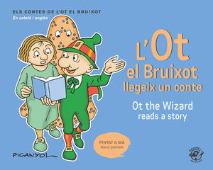 OT EL BRUIXOT LLEGEIX UN CONTE, L' (EDICIÓ BILINGUE CATALÀ-ANGLES)