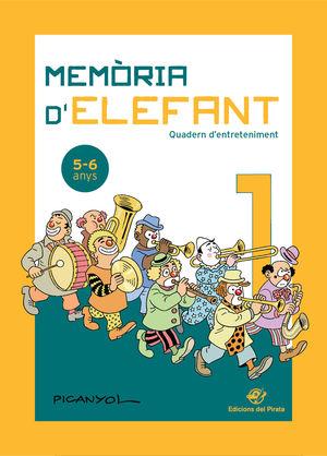 MEMÒRIA D'ELEFANT 1  ( 5-6 ANYS )