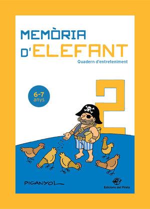 MEMÒRIA D'ELEFANT 6-7 ANYS