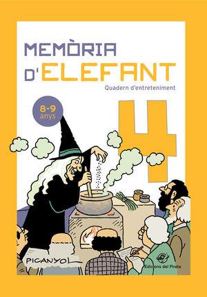 MEMÒRIA D'ELEFANT 4  ( 8-9 ANYS )