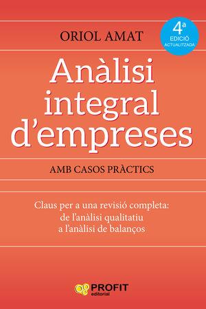 ANÀLISI INTEGRAL D'EMPRESES (4 EDICIÓ 2018)