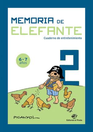 MEMORIA DE ELEFANTE 6-7 AÑOS