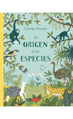 ORIGEN DE LAS ESPECIES DE CHARLES DARWIN, EL