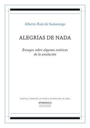 ALEGRÍAS DE NADA