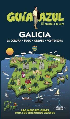 GALICIA, GUIA AZUL