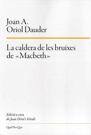 CALDERA DE LES BRUIXES DE