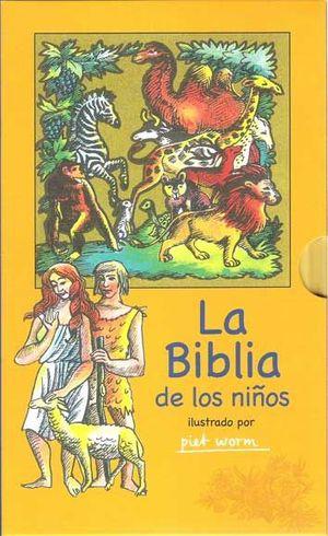 LA BIBLIA DE LOS NIÑOS (ESTUCHE)