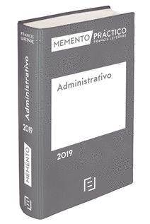 MEMENTO PRÁCTICO ADMINISTRATIVO 2019