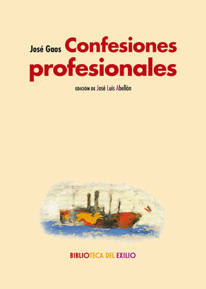 CONFESIONES PROFESIONALES