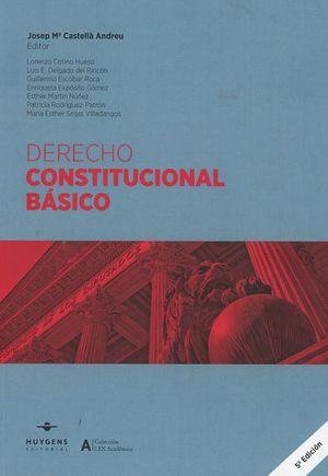 DERECHO CONSTITUCIONAL BÁSICO (5 ED.- 2019)