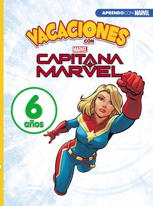 VACACIONES CON CAPITANA MARVEL. 6 AÑOS