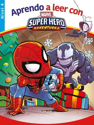 APRENDO A LEER CON... SPIDER-MAN NIVEL 4
