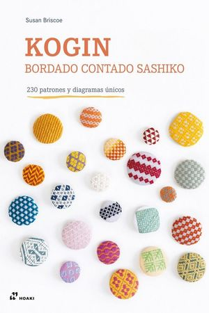 KOGIN - BORDADO CONTADO SASHIKO - 230 PATRONES Y DIAGRAMAS ÚNICOS