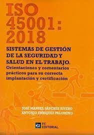 ISO 45001 2018 SISTEMAS DE GESTION DE LA SEGURIDAD Y SALUD EN EL TRABAJO