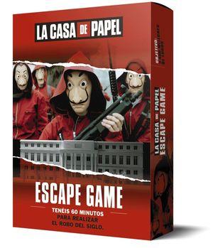 ESCAPE GAME. LA CASA DE PAPEL
