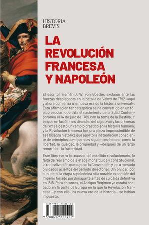 REVOLUCIÓN FRANCESA Y NAPOLEÓN, LA