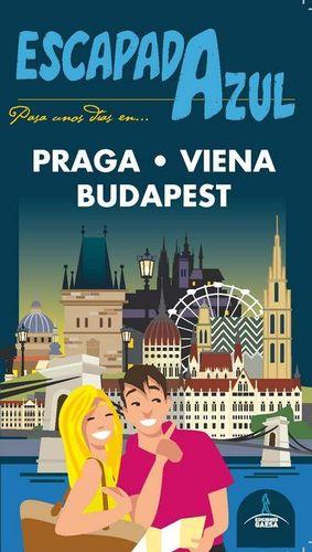 PRAGA, VIENA Y BUDAPEST, GUIA ESCAPADA AZUL