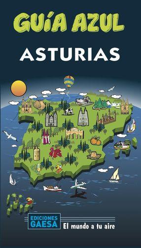 ASTURIAS, GUIA AZUL