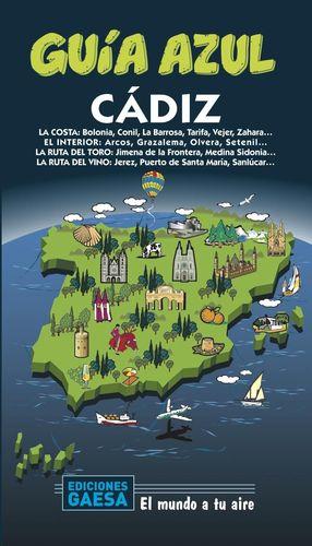 CÁDIZ - GUIA AZUL