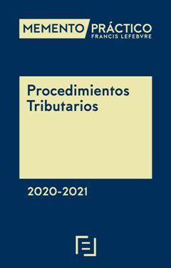 MEMENTO PRÁCTICO PROCEDIMIENTOS TRIBUTARIOS 2020-2021