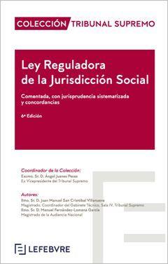LEY REGULADORA DE LA JURISDICCIÓN SOCIAL (6ª EDICIÓN  )