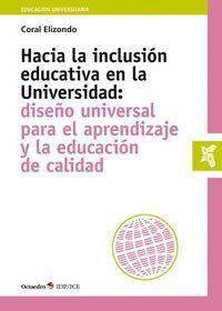 HACIA LA INCLUSIÓN EDUCATIVA EN LA UNIVERSIDAD: