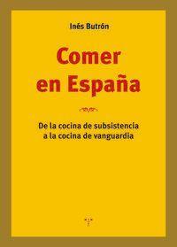 COMER EN ESPAÑA