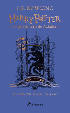 HARRY POTTER Y EL PRISIONERO DE AZKABAN (EDICIÓN RAVENCLAW DEL 20º ANIVERSARIO)