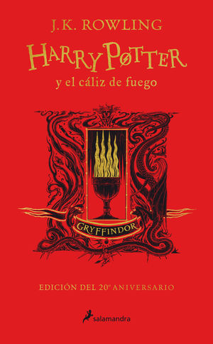 HARRY POTTER Y EL CÁLIZ DE FUEGO (GRYFFINDOR)