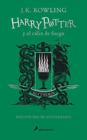HARRY POTTER Y EL CÁLIZ DE FUEGO (SLYTHERIN)