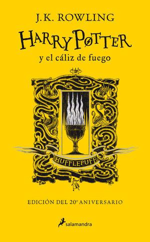 HARRY POTTER Y EL CÁLIZ DE FUEGO (HUFFLEPUFF)