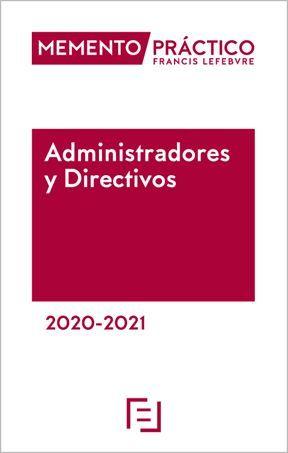 MEMENTO PRÁCTICO ADMINISTRADORES Y DIRECTIVOS 2020-2021