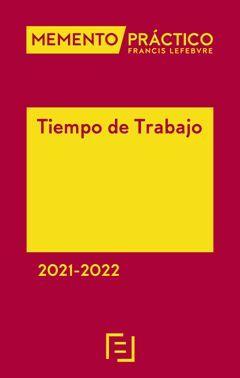 MEMENTO PRÁCTICO TIEMPO DE TRABAJO 2021-2022