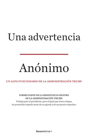 ADVERTENCIA, UNA