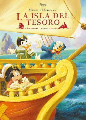 MICKEY Y DONALD EN LA ISLA DEL TESORO