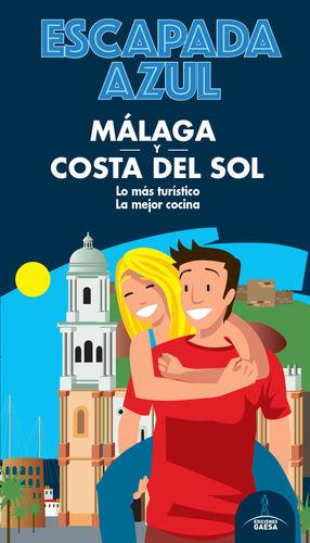 MÁLAGA Y COSTA DEL SOL, GUIA ESCAPADA AZUL