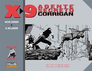 AGENTE SECRETO CORRIGAN X-9 1972-1974 - EL ROBO DEL VIRUS