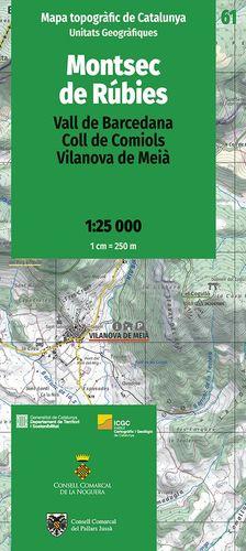 MONTSEC DE RÚBIES – 61. VALL DE BARCEDANA, COLL DE COMIOLS, VILANOVA DE MEIÀ