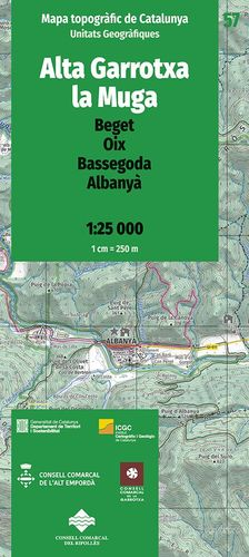 ALTA GARROTXA-LA MUGA – 57. BEGET, OIX, BASSEGODA, ALBANYÀ