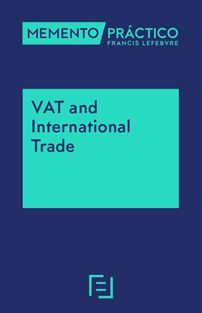 MEMENTO VAT AND INTERNATIONAL TRADE