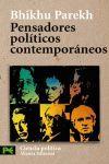 PENSADORES POLITICOS CONTEMPORANEOS
