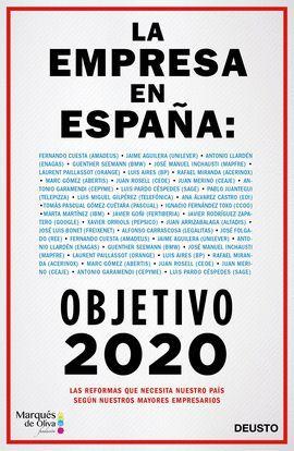 EMPRESA EN ESPAÑA: OBJETIVO 2020, LA