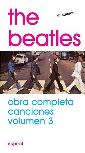 THE BEATLES -  CANCIONES VOL. 3 - OBRA COMPLETA