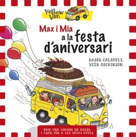 MAX I MIA A LA FESTA D'ANIVERSARI