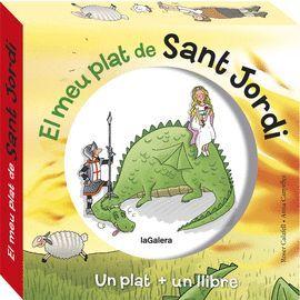 MEU PLAT DE SANT JORDI, EL   (UN PLAT + UN LLIBRE)